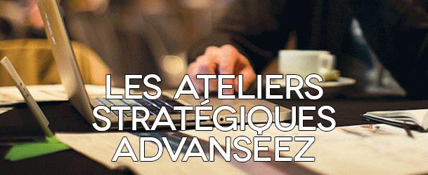 Les ateliers stratégiques Advanseez