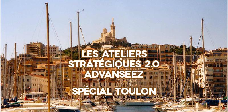 Atelier plan stratégique 2.0 avec Advanseez à Toulon