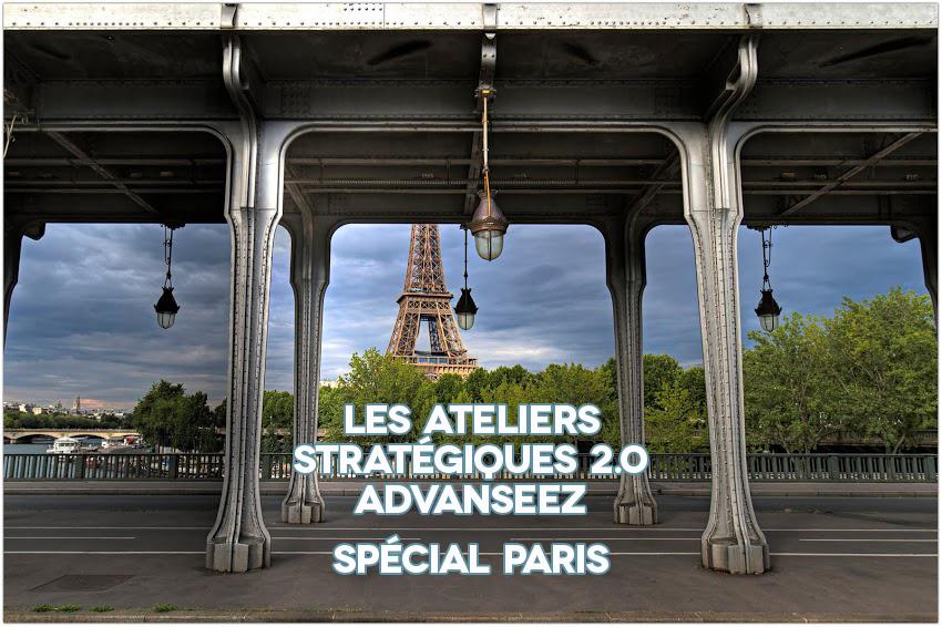 Atelier Stratégique Advanseez à Paris (75) – Spécial Manager 2.0