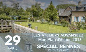 Participez à un atelier d'une matinée à Rennes pour élaborer votre plan d'actions 2016 dans Advanseez